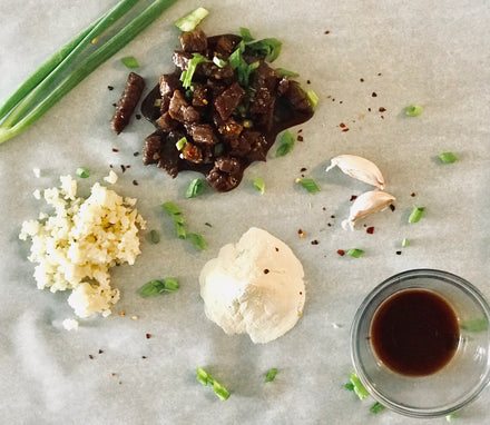 Collagen Mongolian Beef & Cauliflower Rice