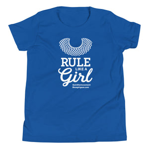 Rule Like A Girl - WH (Youth S/S T-Shirt)