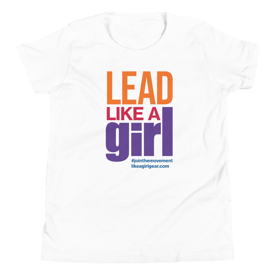 Lead Like A Girl - MULTI (Youth S/S T-Shirt)