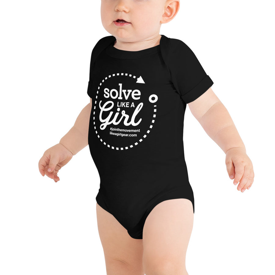 Solve Like A Girl - WH (Onesie)