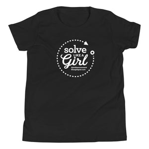 Solve Like A Girl - WH (Youth S/S T-Shirt)