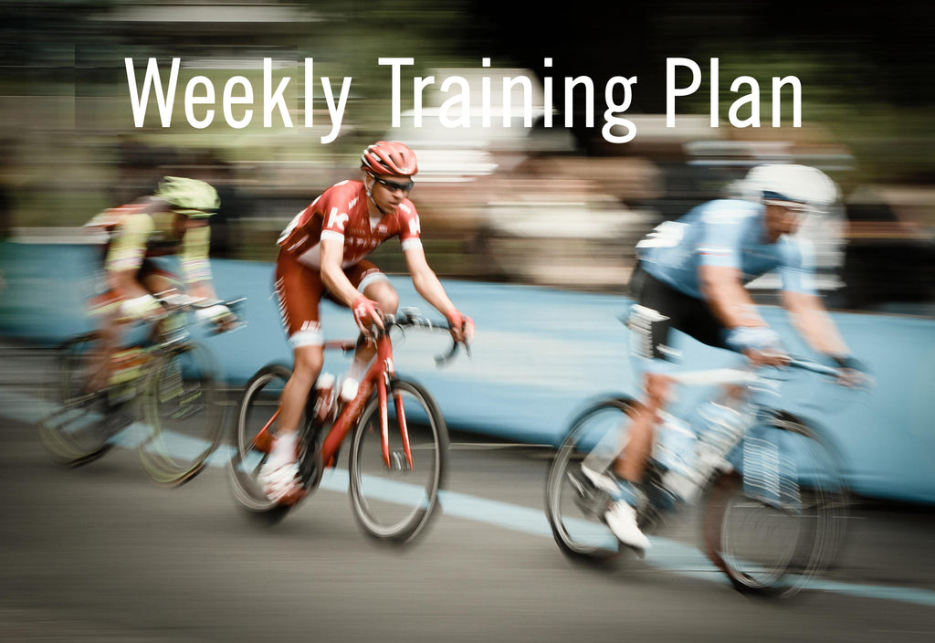 Weekly Training Plan