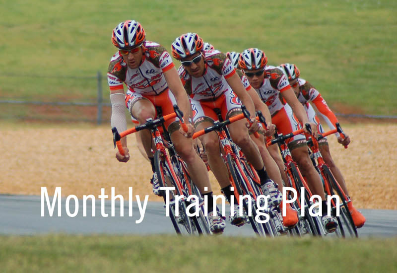 Monthly Training Plan