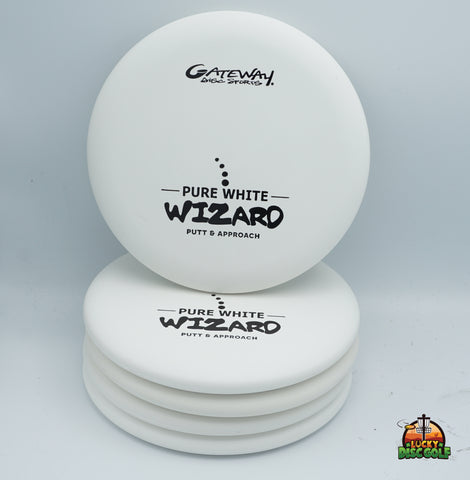 Gateway Pure White Wizard Putter Pack