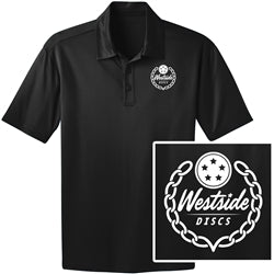 Westside Disc Collared Polo