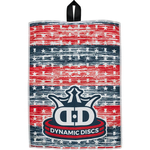 Dynamic Discs Quick-Dry Towel Stars and Stripes