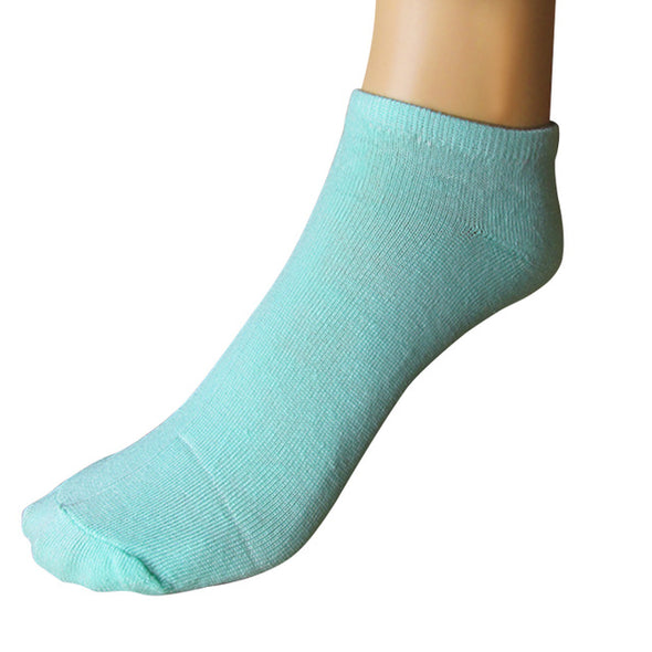 Stylish Female 1 Pair 6color Cotton Blend elastic Socks Warm Winter Women ankle length Short sock for lady girls gift Sox