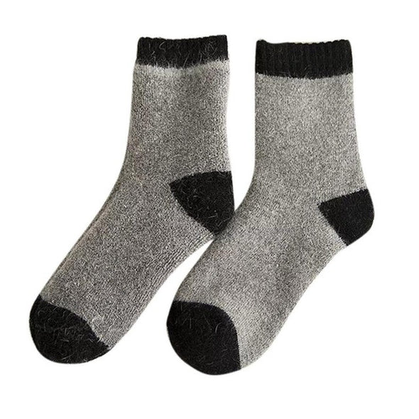 Women Sport Socks Mens Knitted Wool Socks Warm Winter