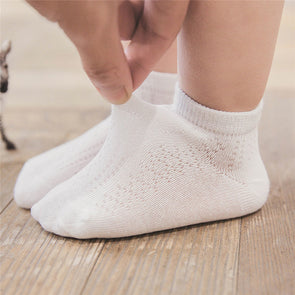 3 Pairs Newborn Baby Boy Girl Cotton Socks Infant Toddler Kids Soft Socks Girls Low Cut Chaussettes High Quality