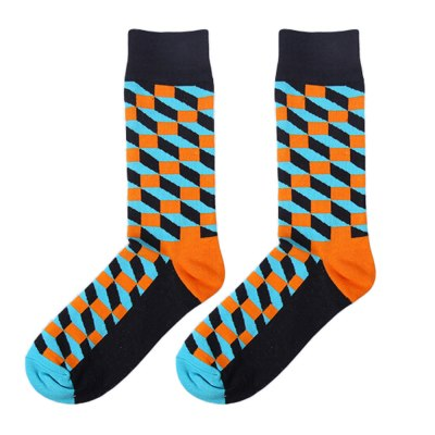 Cartoon Luxury Brand Mens Sock