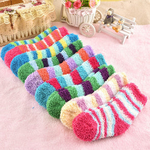 Winter coral fleece Fashion for 0-3 year baby boy /girls socks