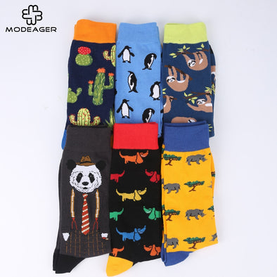 Monkey Pattern Hip hop Cool Socks for Men