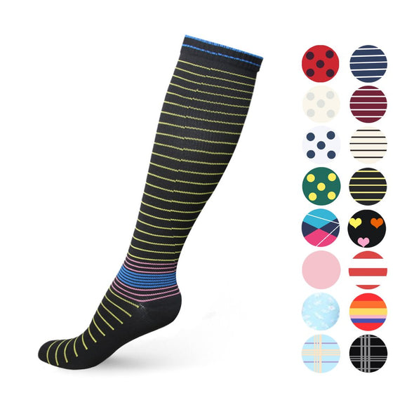 Compression Socks for Women & Men 20-30 mmHg Compression Stockings for Sport Travel & Bussiness
