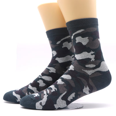 1Pair Men Color Dress Business Sock Men's Compression Socks