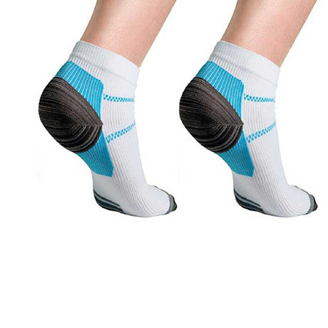 Unisex Ankle Compression Socks (6-Pack)