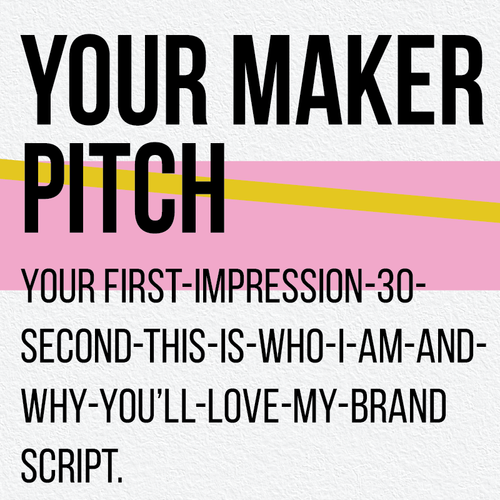 Your Maker Pitch - Wow Them From The Start