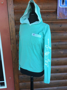 Lily Grace Hoodie ~ Mint