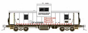 Rapido Trains - HO Scale - Modern Wide Vision Caboose - Canadian Pacific (CP) No. 420989