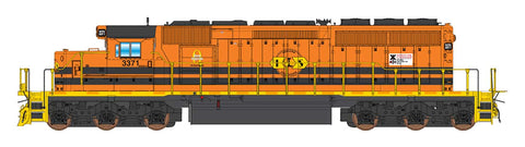 HO Scale SD40-2 Locomotives G&W Family