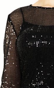 witch-witch - Evening Sequin Dress - Giulia & Grace - Woman Dress