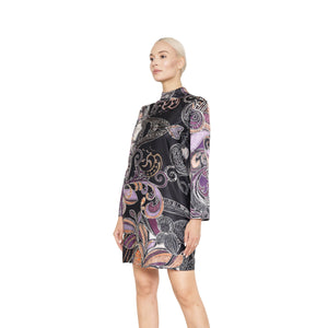 witch-witch - Printed Oriental Dress - Giulia & Grace - Woman Dress