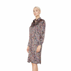 witch-witch - Printed Dress - Giulia & Grace - Woman Dress
