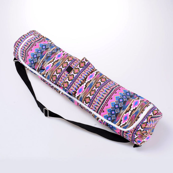 Ethnic Printed Mat Yoga bag