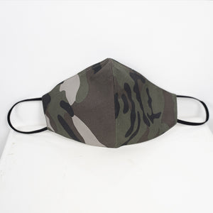 Face Mask Military Green