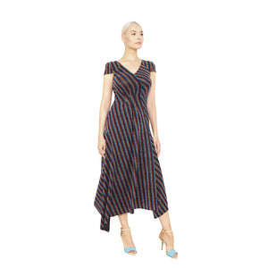 witch-witch - Light Knitted Striped Lurex Dress - Giulia & Grace - Woman Dress