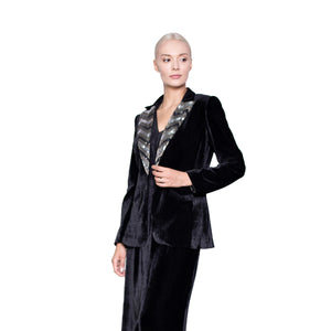 witch-witch - Velvet Sequin Jacket - Giulia & Grace - Woman Jacket