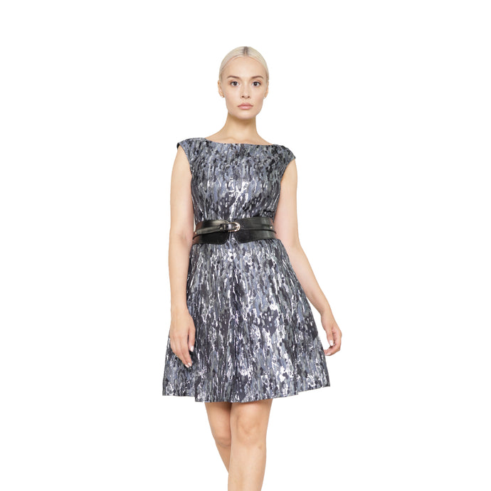 witch-witch - Beautiful Jacquard Camouflage Lurex Dress - Giulia & Grace - Woman Dress
