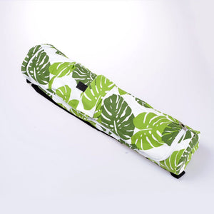 Printed Leaves Mat Yoga bag