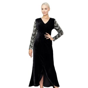 witch-witch - Velvet Sequin Dress - Giulia & Grace - Woman Dress