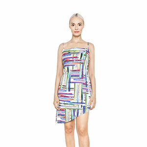 witch-witch - Sexy Short Printed Neon Dress - Giulia & Grace - Woman Dress