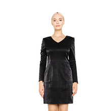 witch-witch - Eco Leather Animal Pattern Dress - Giulia & Grace - Woman Dress