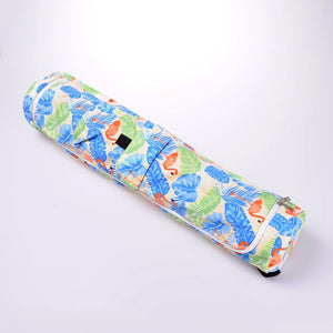 Printed Flamingo Yoga Mat Bag