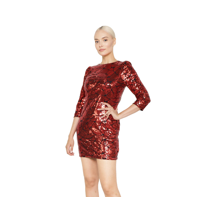 witch-witch - Sexy Short Sequin Dress - Giulia & Grace - Woman Dress