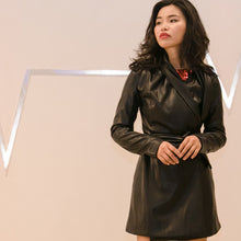 witch-witch - Eco Leather Short Jacket - Giulia & Grace - Woman Jacket