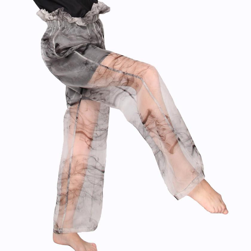 witch-witch - DF04 - Printed Silk Pants - Witch & Witch - Pants