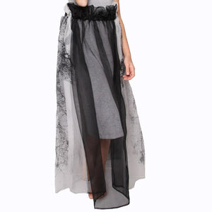 witch-witch - DF07 - Printed Silk Skirt - Witch & Witch - Skirt