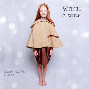 witch-witch - DL13 -  Hood Cape - Witch & Witch - Cape