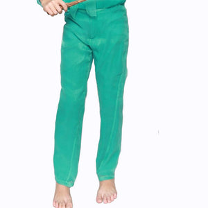witch-witch - DS02 - Silk Emerald Pants - Witch & Witch - Pants