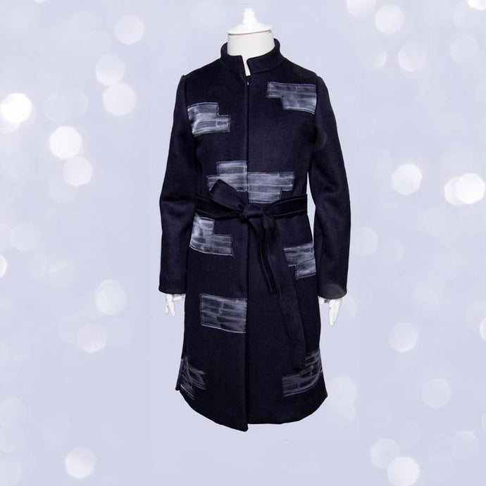 witch-witch - LH10 -  Wool Polyester Coat with Silk insert - Witch & Witch - Coat