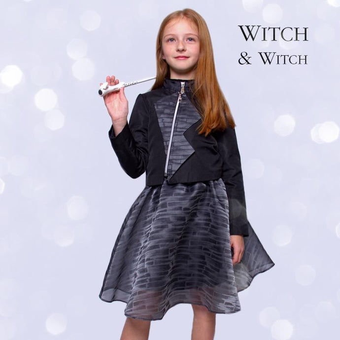 witch-witch - LH11 -  Silk Printed Skirt - Witch & Witch - Skirt