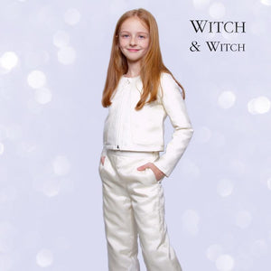 witch-witch - LH12 -  Short Jacket Silk/Viscose with Down 90/10 - Witch & Witch - Jacket