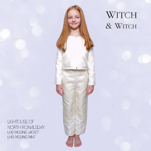 witch-witch - LH13 -  Silk Viscose Pants with Down 90/10 - Witch & Witch - Pants