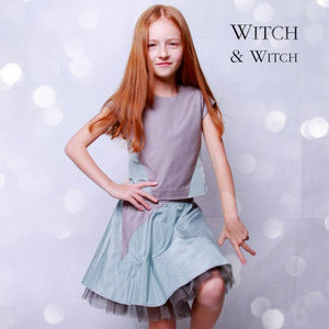 witch-witch - MA11 -  Silk Skirt with insert and tulle - Witch & Witch - Skirt