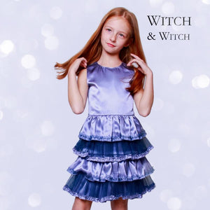 witch-witch - PT01 -  Silk Dress with Flounce - Witch & Witch - Dress