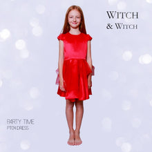 witch-witch - PT04 -  Silk Red Dress with Flounce - Witch & Witch - Dress