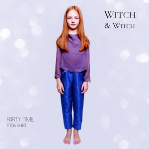 witch-witch - PT06 -  Silk long Sleeve Shirt - Witch & Witch - Shirt